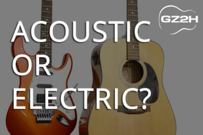 Acoustic or Electric Guitar