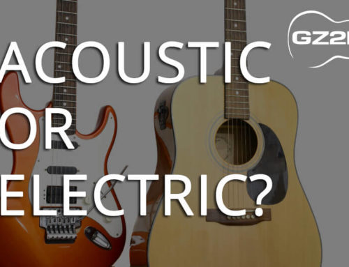 ACOUSTIC OR ELECTRIC GUITAR?