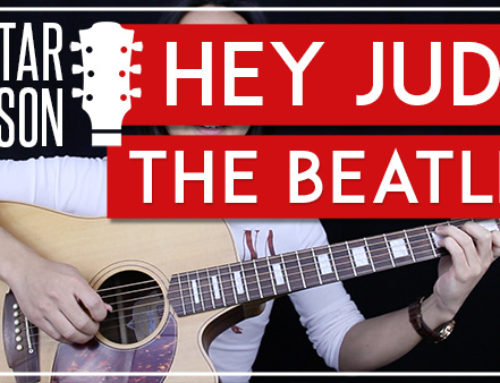 HEY JUDE -THE BEATLES GUITAR LESSON