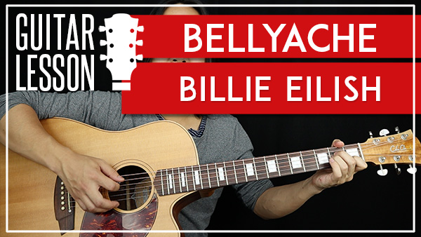 BELLYACHE - BILLIE EIL...G 7 Chord Guitar