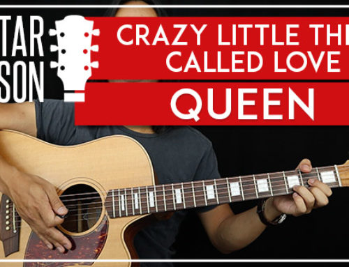 CRAZY LITTLE THING CALLED LOVE – QUEEN GUITAR LESSON