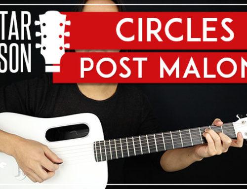 STAY - POST MALONE GUITAR LESSON - GuitarZero2Hero