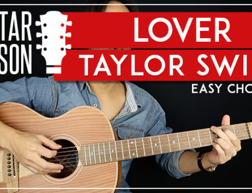 LOVER – TAYLOR SWIFT GUITAR LESSON