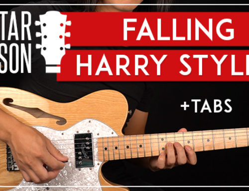 HARRY STYLES – FALLING GUITAR LESSON
