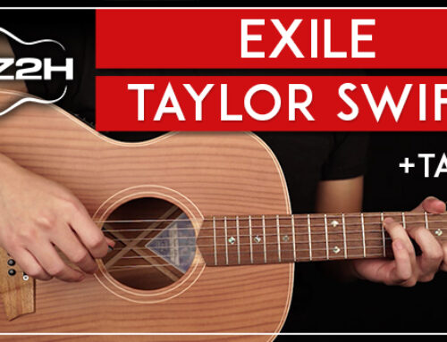 EXILE – TAYLOR SWIFT GUITAR LESSON